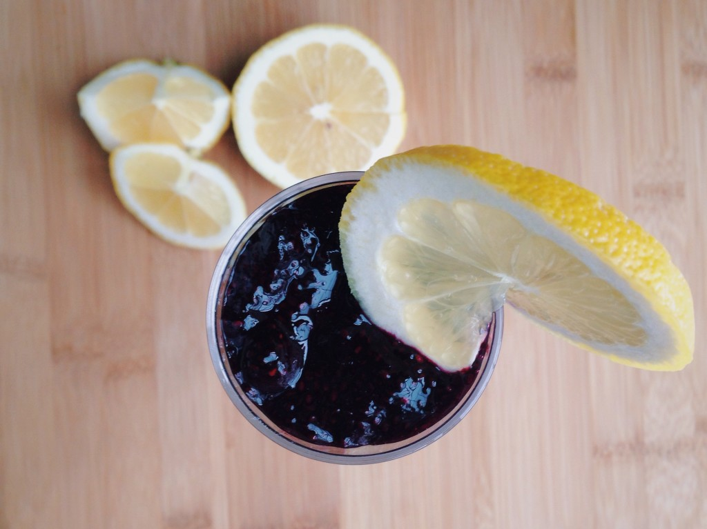 Lemon Blueberry Chia Parfait