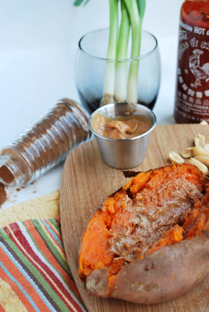 Peanut Butter Sweet Potato || fooduzzi.com recipes