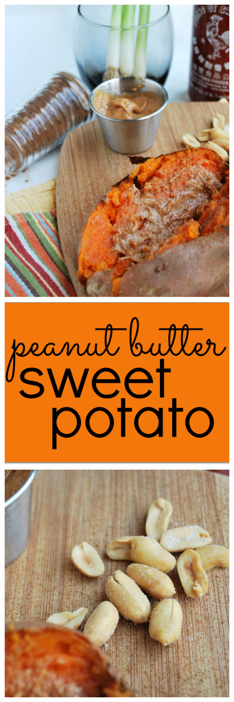 Peanut Butter Sweet Potato: A gluten free, vegan, simple, and satisfying meal for those busy nights! || fooduzzi.com