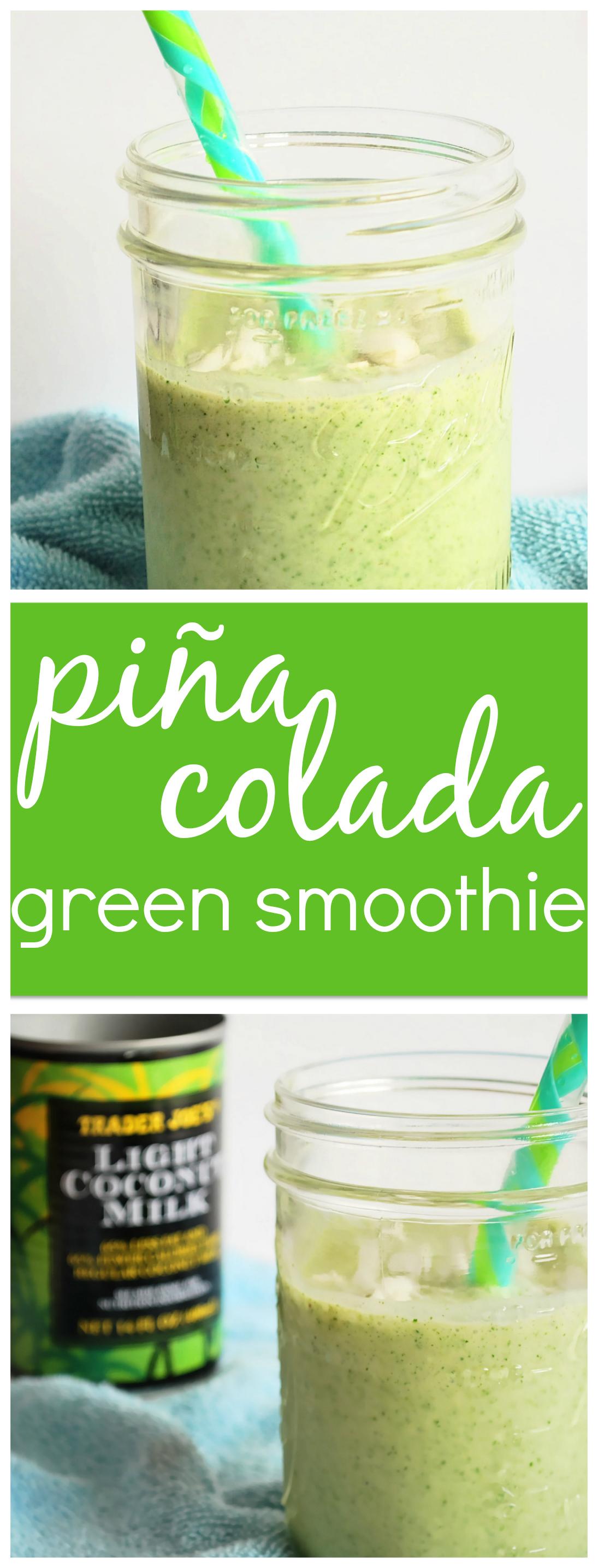 Piña Colada Green Smoothie: Taste the tropics with this nutritious ...