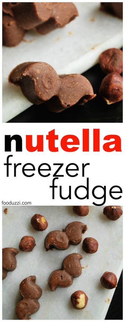Nutella Freezer Fudge