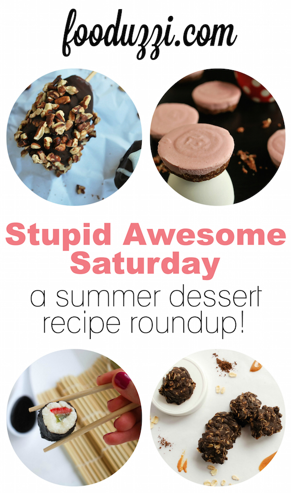 Healthy Dessert Recipe Roundup