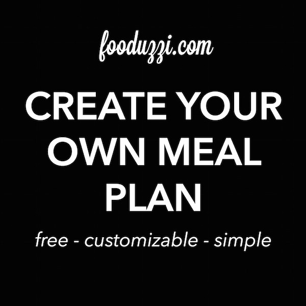 Create Your Own Meal Plan