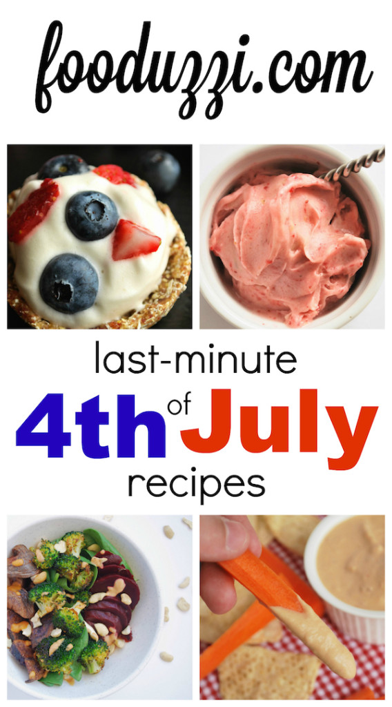 Last Minute Fourth of July Recipes