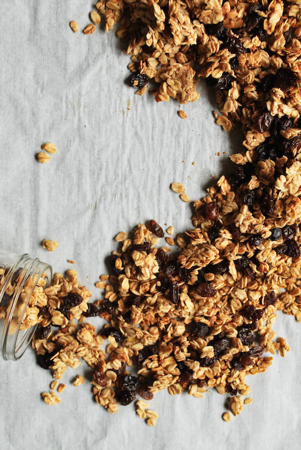 Banana Bread Granola || fooduzzi.com recipes