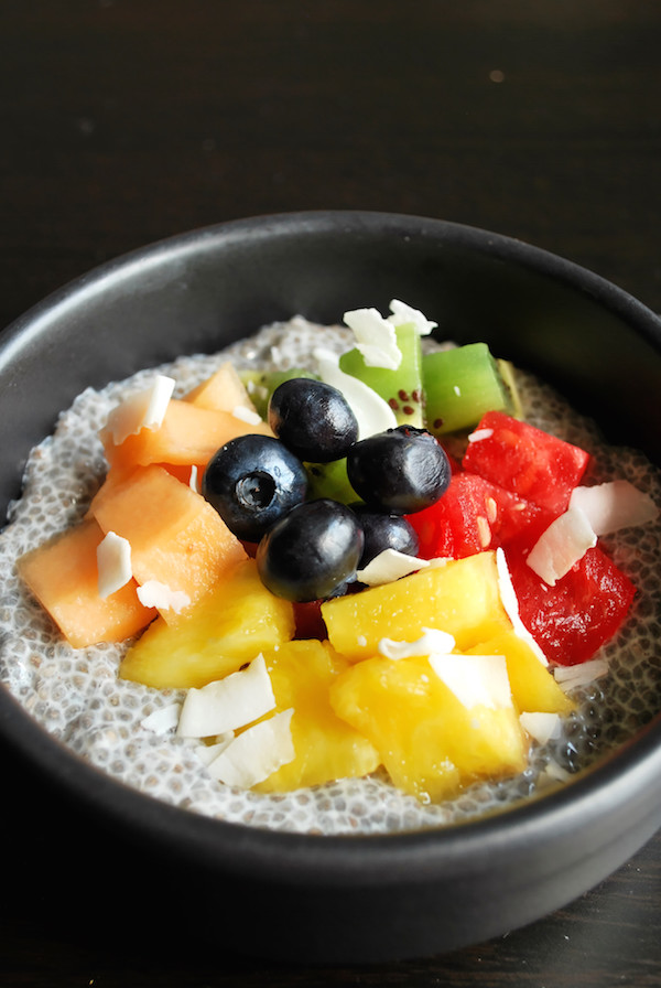 End-of-Summer Fruit and Chia Bowl