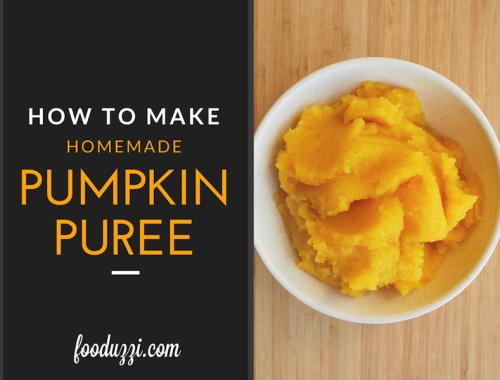 How to Make Homemade Pumpkin Puree || fooduzzi.com recipes