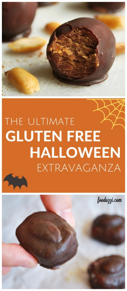 The Ultimate Gluten Free Halloween Extravaganza: healthy treats for a spooktacular night of trick-or-treating! || fooduzzi.com recipes