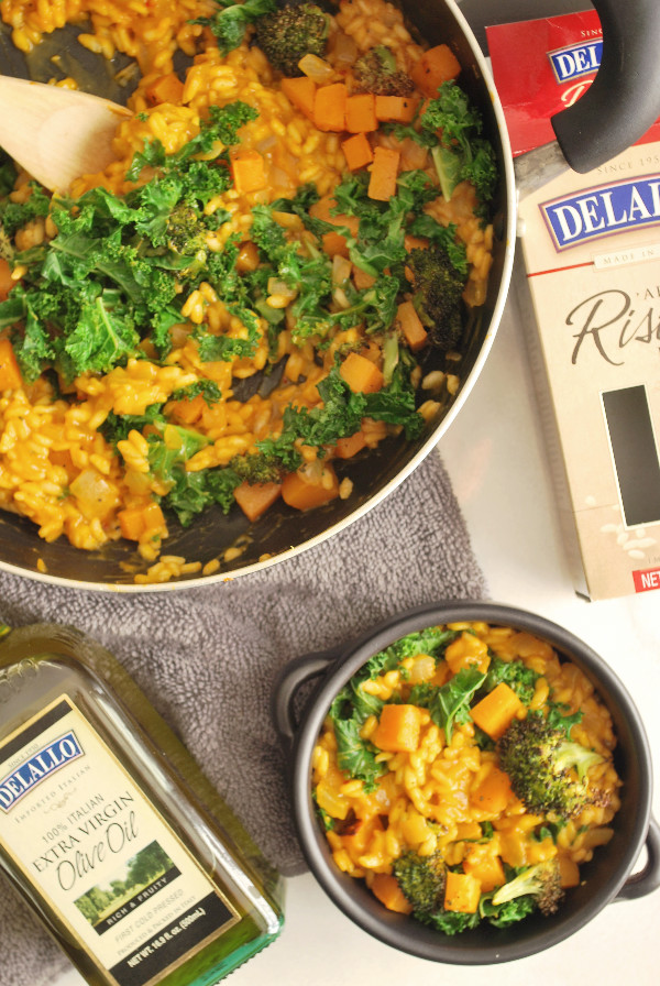Easy Fall Vegetable Risotto Fooduzzi