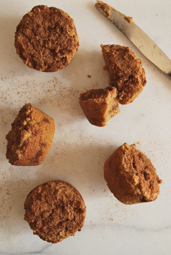 Gluten Free Vegan Pumpkin Muffins || fooduzzi.com recipes