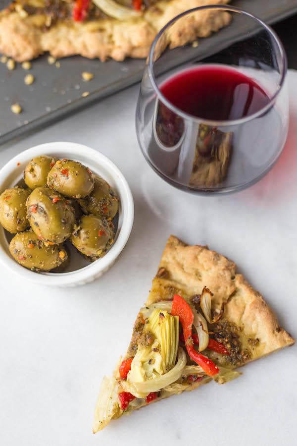Gluten Free Fennel Pesto Pizza - Fooduzzi