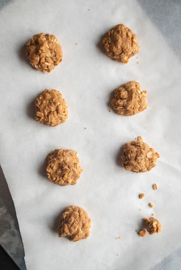 Healthy Peanut Butter No Bake Cookies Fooduzzi