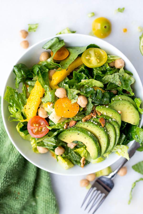 Caribbean Rainbow SaladFooduzzi
