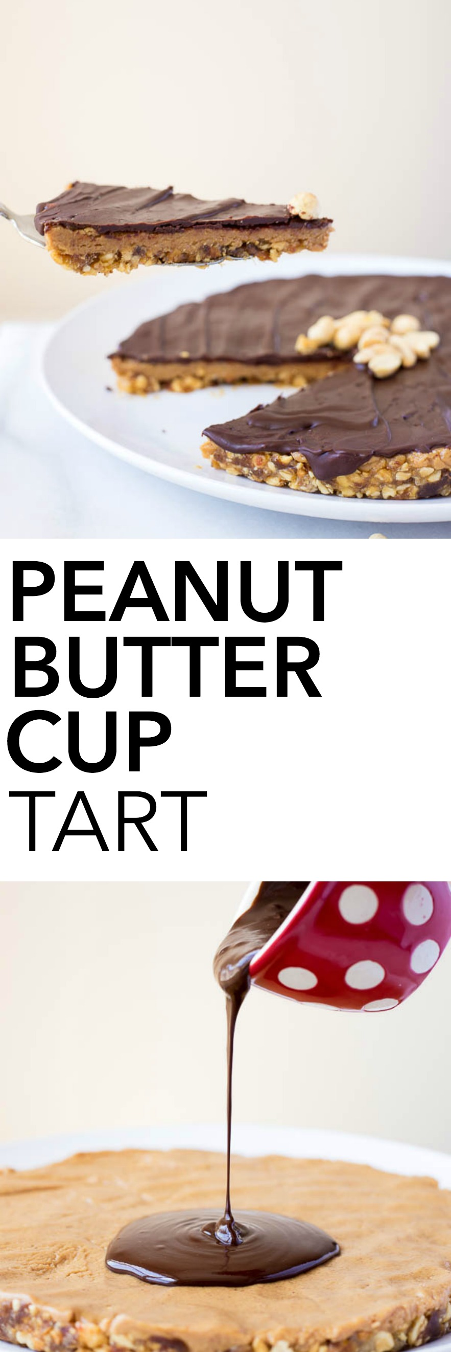 Easy Peanut Butter Cup Tart