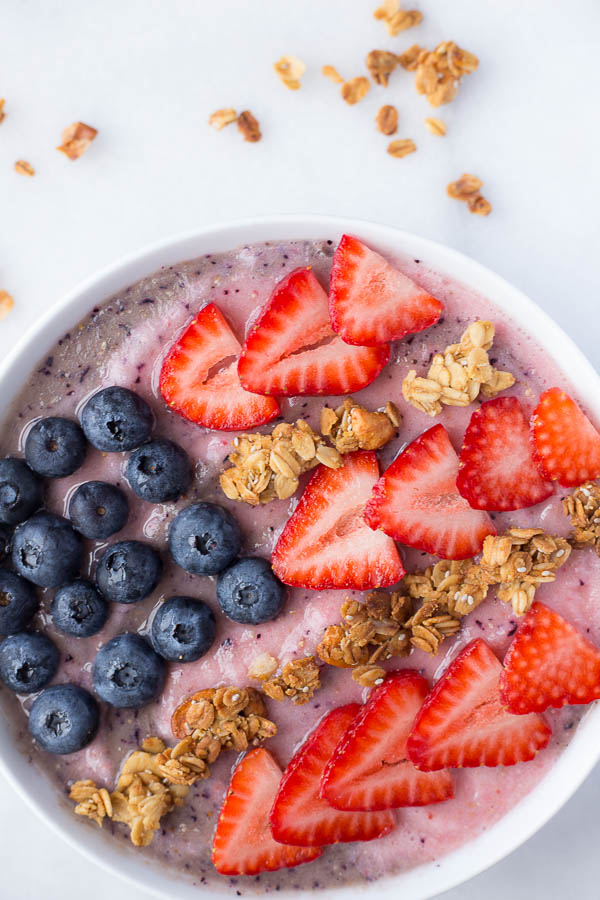 Red, White, & Blue Smoothie Bowl