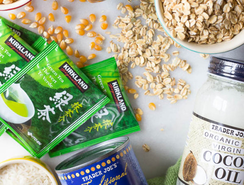 9 Vegan Pantry Staples for Summer: I always have these vegan and gluten free ingredients handy during the summer months for quick and easy snacks, meals, and desserts! || fooduzzi.com