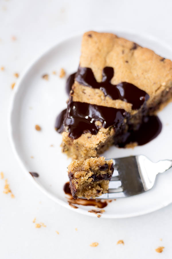 Gluten Free Vegan Cookie Cake Fooduzzi