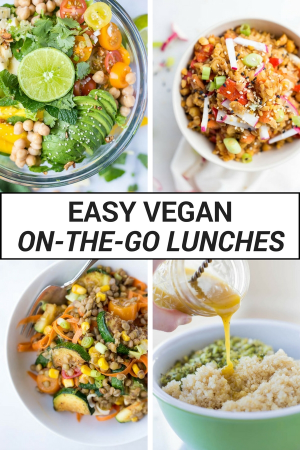 Easy Vegan On-the-Go Lunches