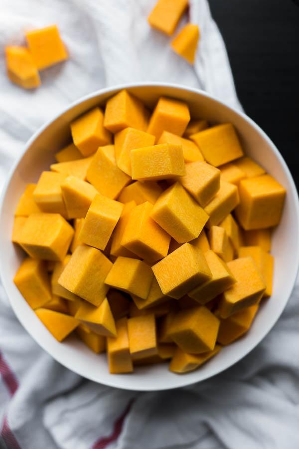 Thai Peanut Butternut Squash Soup - Fooduzzi