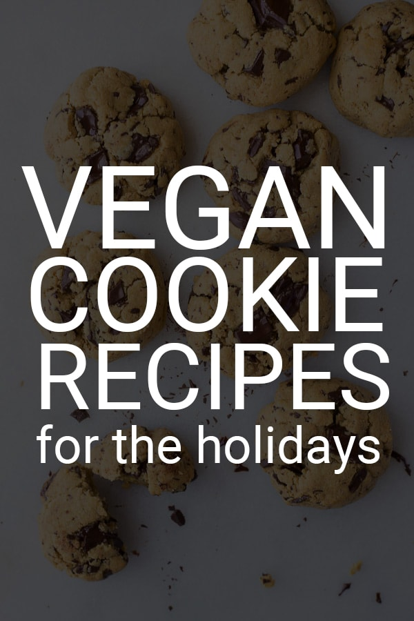 40+ EPIC Vegan Cookie Recipes for the Holidays: A list of some of the most delicious gluten free and vegan cookie recipes for the holidays! There's something for everyone on this list! || fooduzzi.com recipe