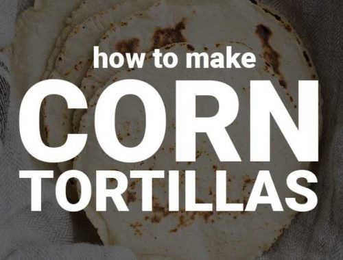 How to Make Corn Tortillas: These homemade tortillas are the best corn tortillas I've ever had! They're naturally gluten free and vegan, and they only require two ingredients! Step-by-step photos included in the post. || fooduzzi.com