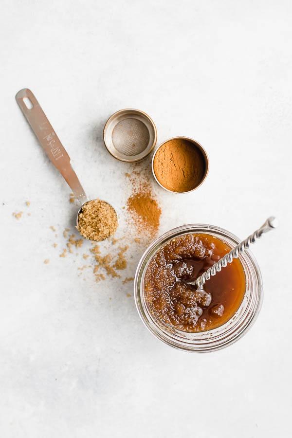 3 Ingredient Brown Sugar Lip Scrub Fooduzzi