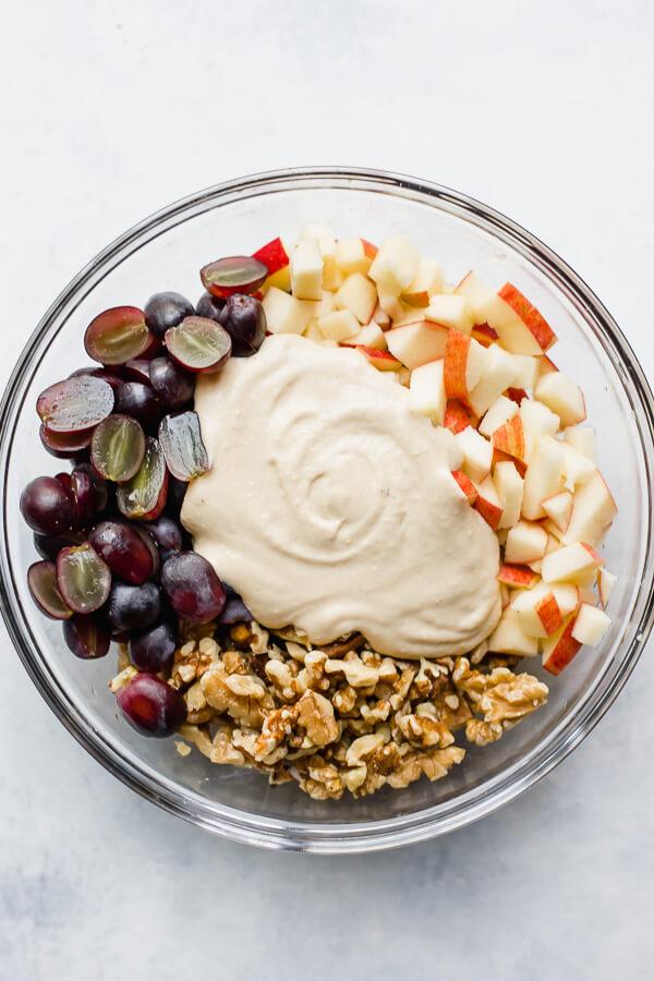 Waldorf Salad Recipe Vegan